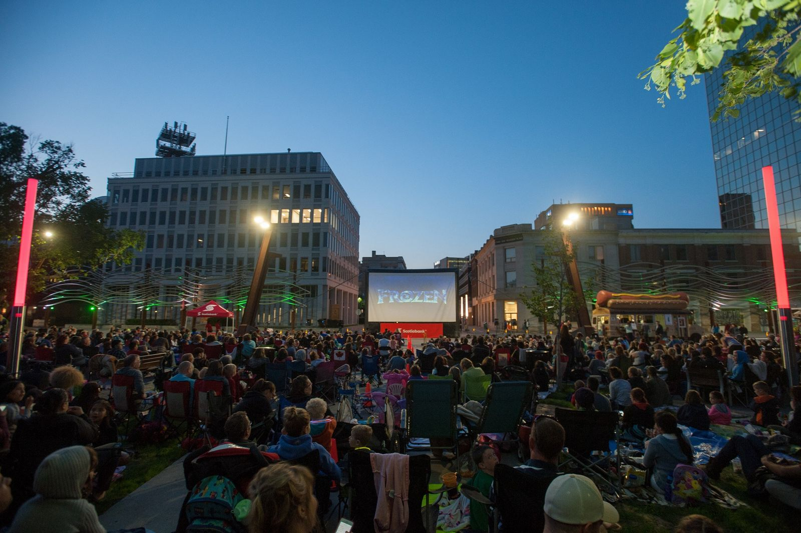 "Bring your family to Victoria Park to enjoy one of this summer's many Regina tourism events, including Cinema Under the Stars. <a href=""https://reginadowntown.ca/"">Photo courtesy of Downtown Regina.</a>"