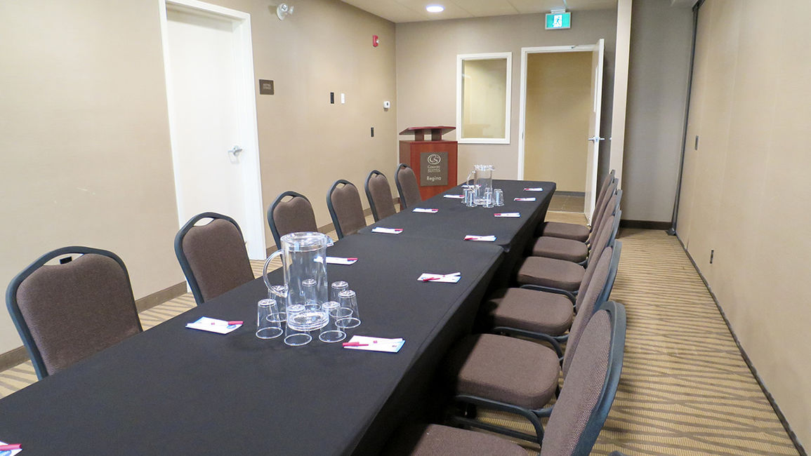 Long table meeting room